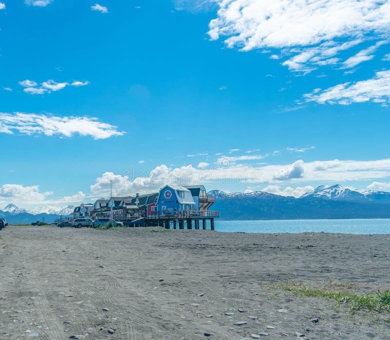 Вертел почтового голубя, Аляска стоковое фото rf