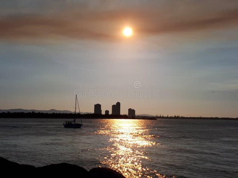 Вертел, Gold Coast стоковое фото rf