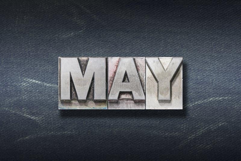 Вертеп слова в мае стоковые фотографии rf