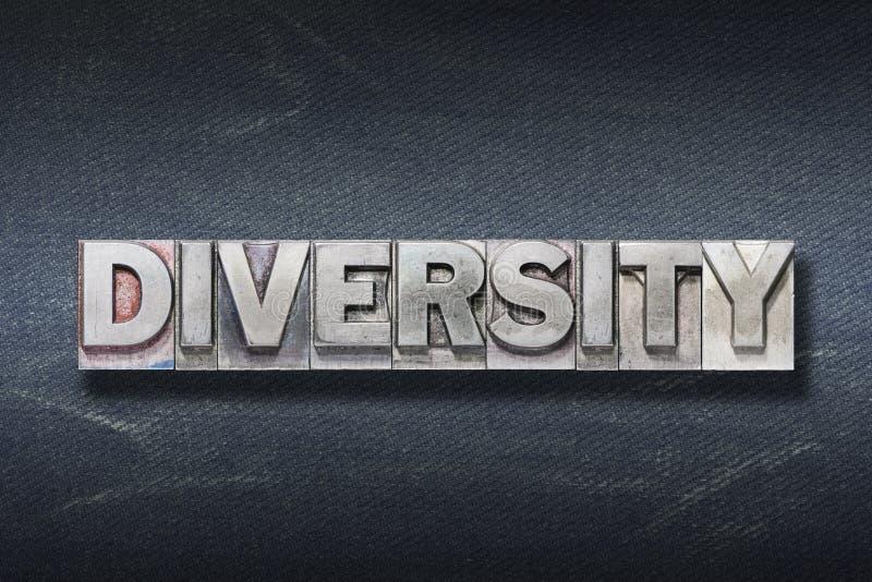 Вертеп слова разнообразия стоковая фотография