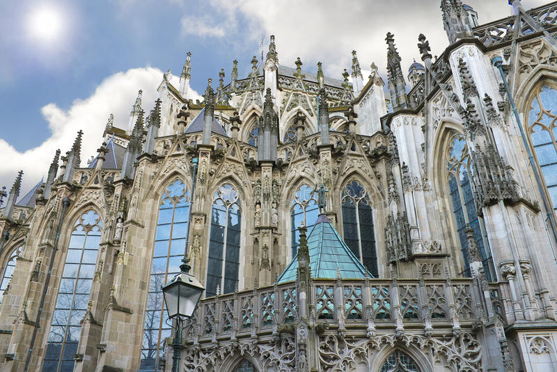 вертеп собора bosch стоковая фотография rf
