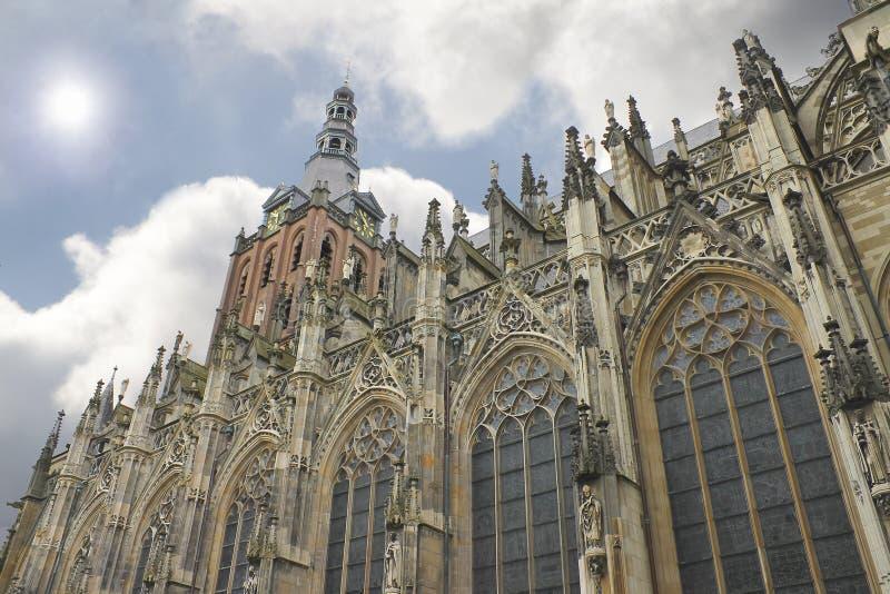 вертеп собора bosch стоковое изображение rf
