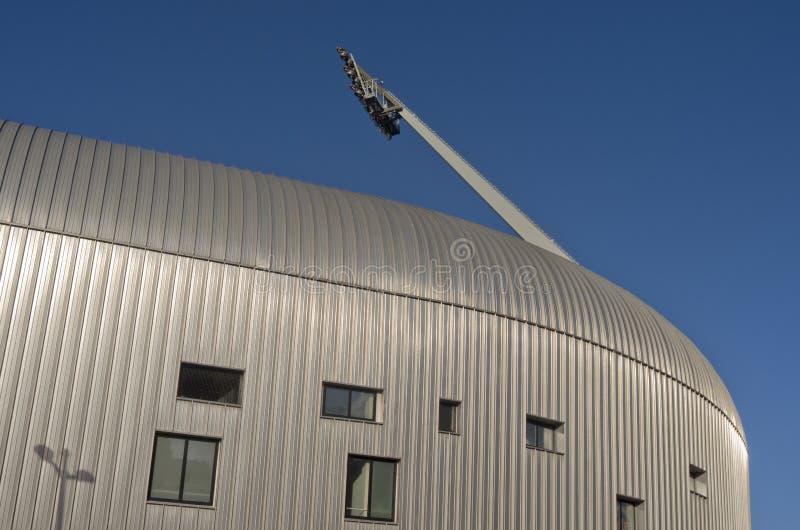 Вертеп Haag СУЕТЫ клуба футбола премьер-лиги стадиона Kyocera. стоковые фотографии rf