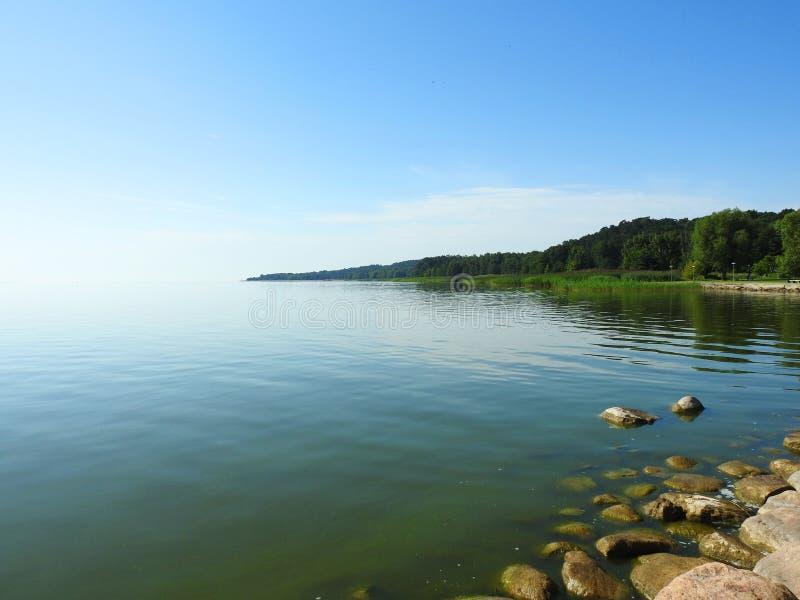 Вертел Curonian, Литва стоковое изображение rf