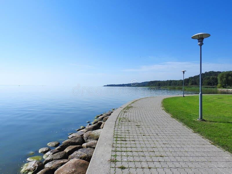 Вертел Curonian, Литва стоковое фото
