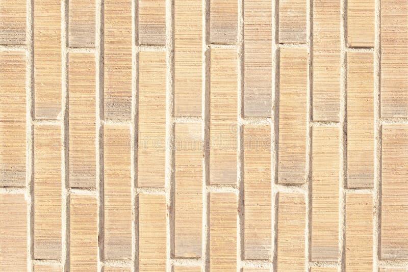 Вертикальная текстура предпосылки кирпичной стены стоковые изображения rf