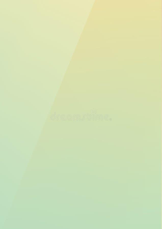 Вертикальный зеленый цвет лимона градиента смешал предпосылку цвета tendy бумажную иллюстрация вектора