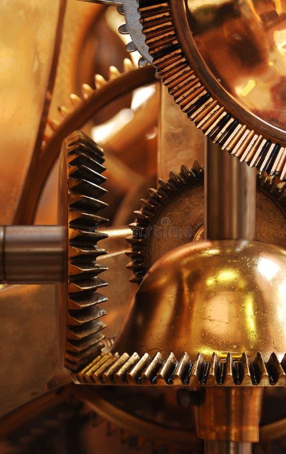 вертикаль clockwork стоковое изображение rf