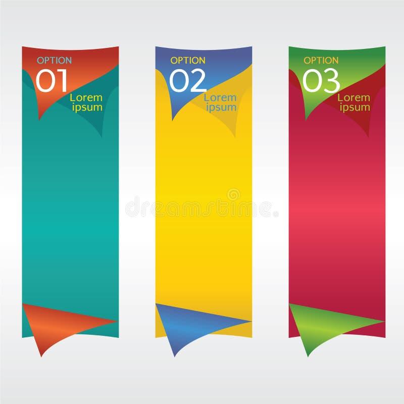 Вертикальное знамя. бесплатная иллюстрация