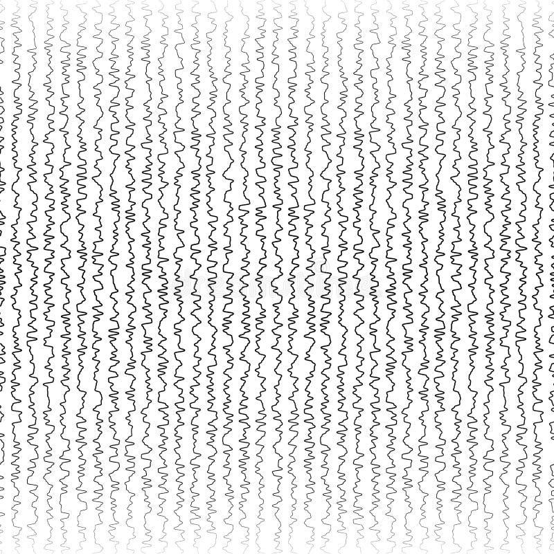 Download Вертикальное неровное, картина линий сложной формы Иллюстрация вектора - иллюстрации насчитывающей monochrome, случайно: 81801337