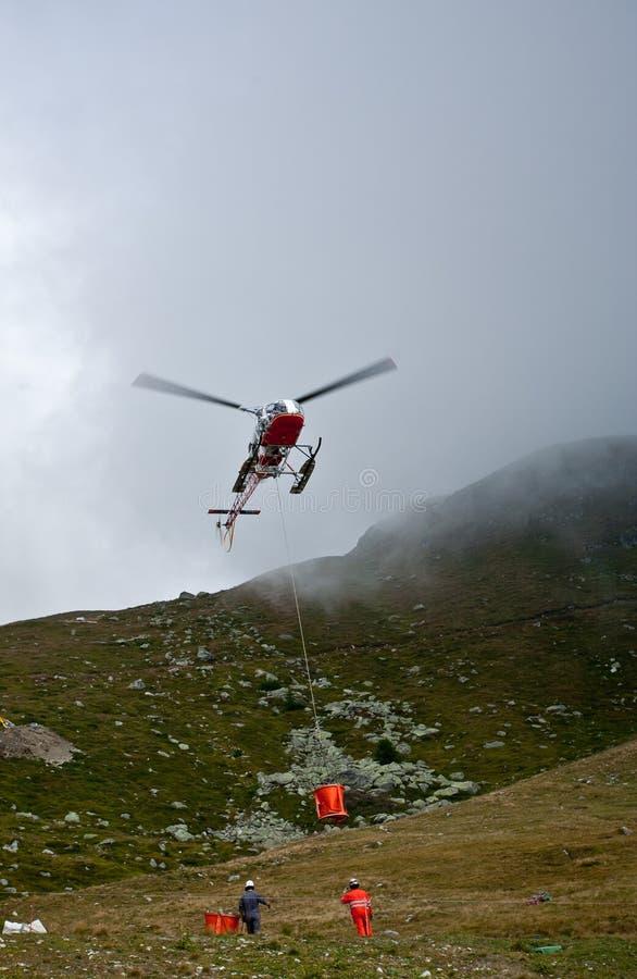 вертолет конструкций стоковая фотография