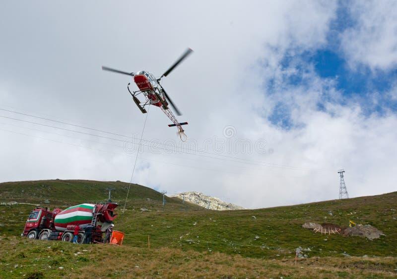 вертолет конструкций стоковые фотографии rf