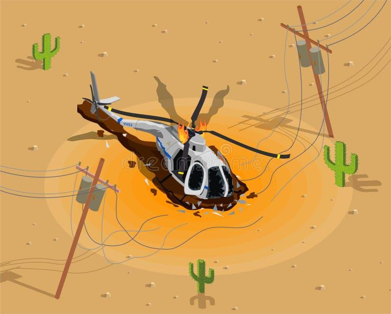 Вертолет снятый вниз с состава бесплатная иллюстрация