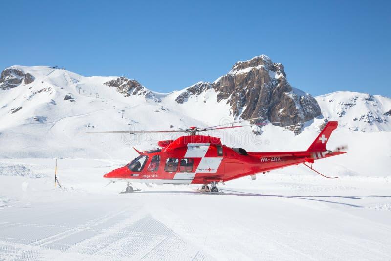 Вертолет спасения стоковая фотография rf