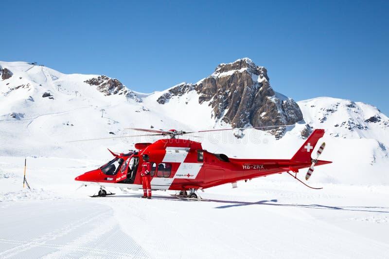 Вертолет спасения стоковое изображение rf