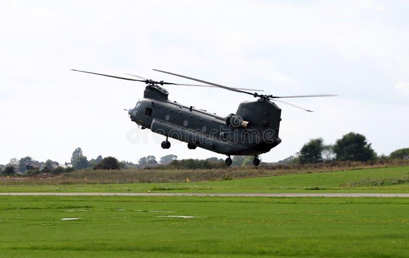 вертолет чинука Стоковые Изображения