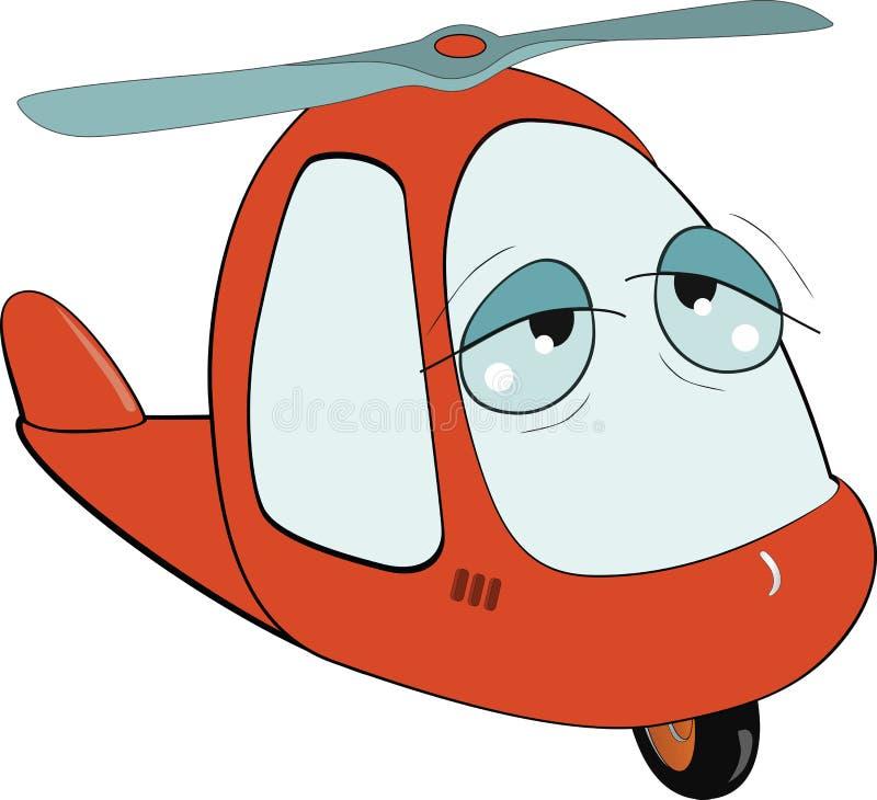 вертолет шаржа меньшяя игрушка бесплатная иллюстрация