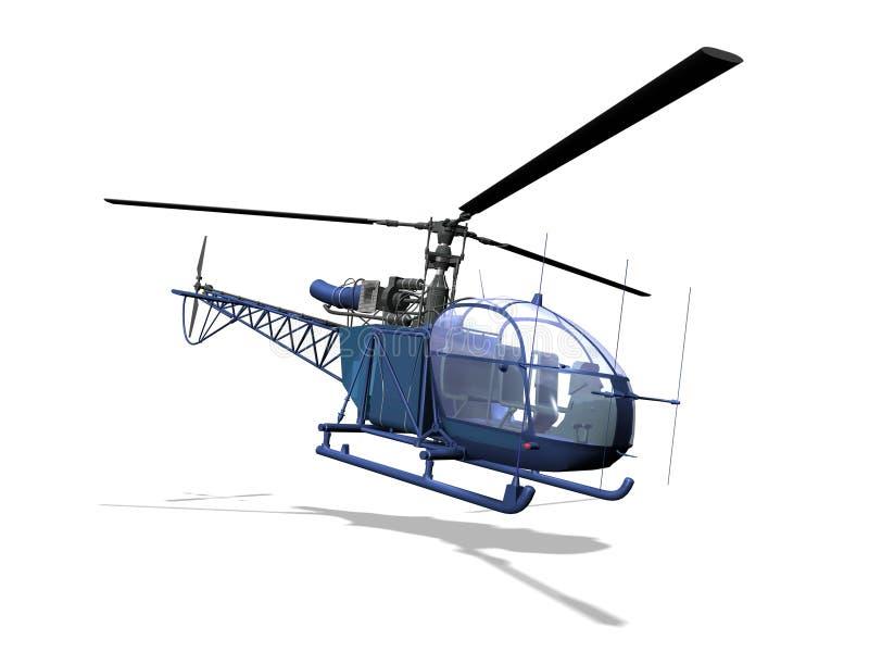 Вертолет иллюстрация вектора