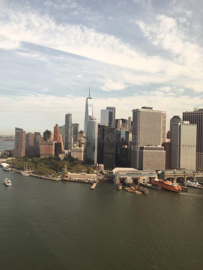 Вертолет NewYork стоковые изображения