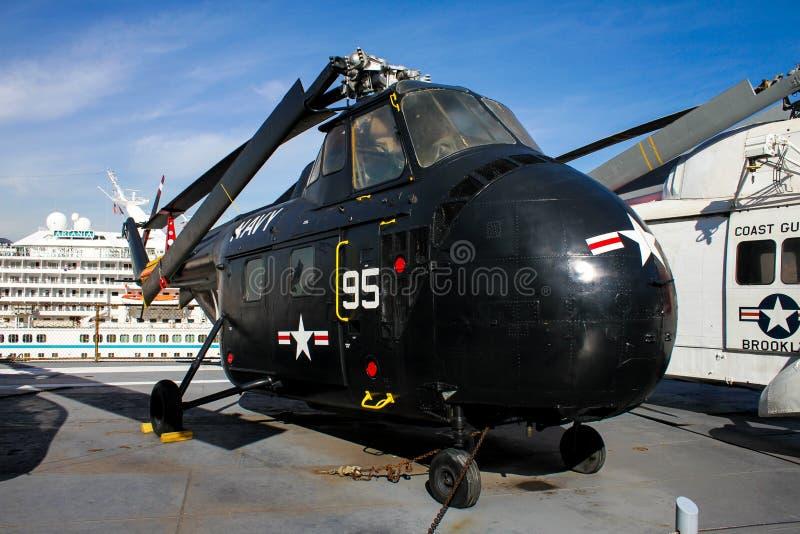 Вертолет Chickasaw Sikorsky HRS (H-19) стоковая фотография rf