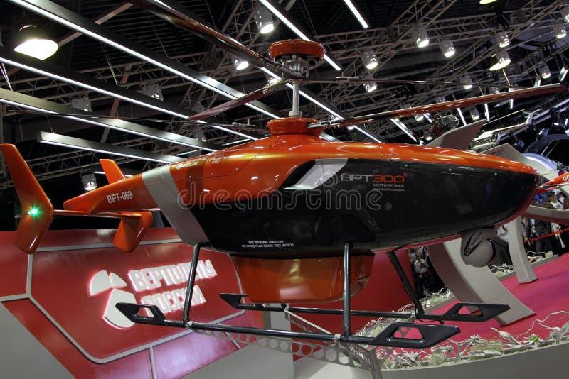 Вертолет WRT-300 рекогносцировки льда прототипа на Internati стоковая фотография