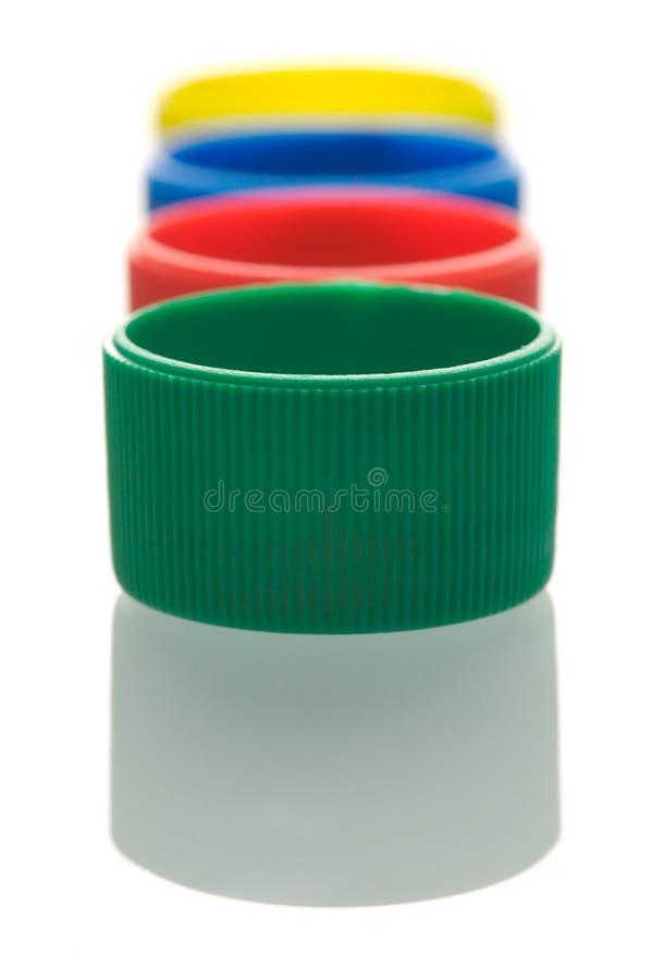 верхние части бутылки стоковые изображения