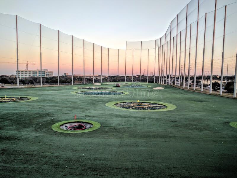 Верхний гольф стоковые изображения rf
