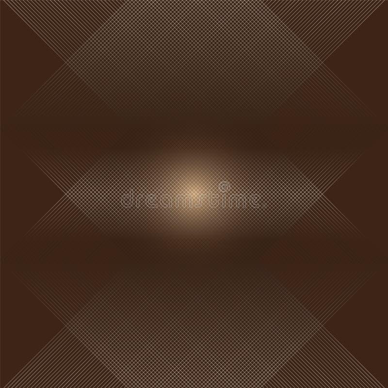 Верхний слой линий на коричневой предпосылке стоковые изображения
