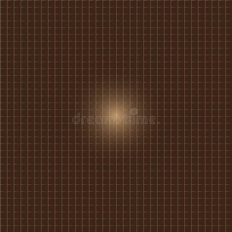 Верхний слой линий на коричневой предпосылке стоковая фотография rf