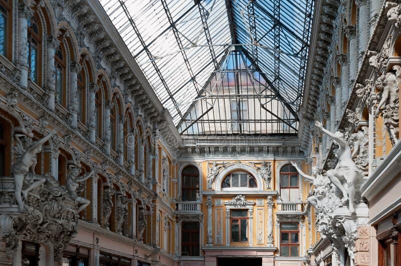 Верхний уровень прохода в Odesa Украине стоковые изображения rf