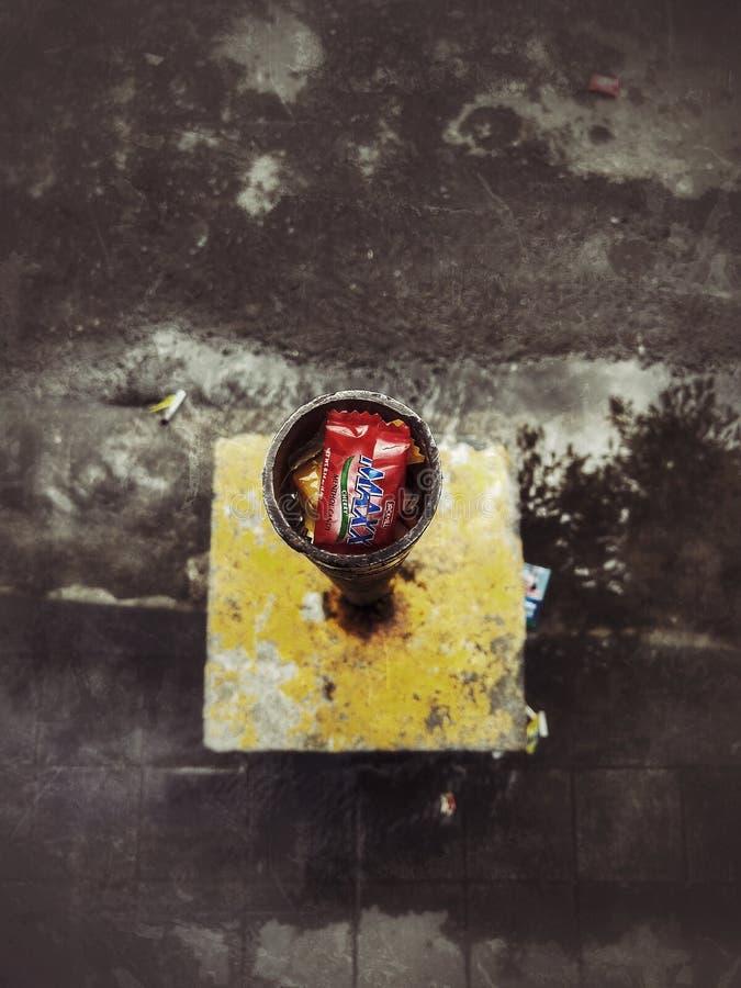 Верхняя конфета погани стоковые изображения rf