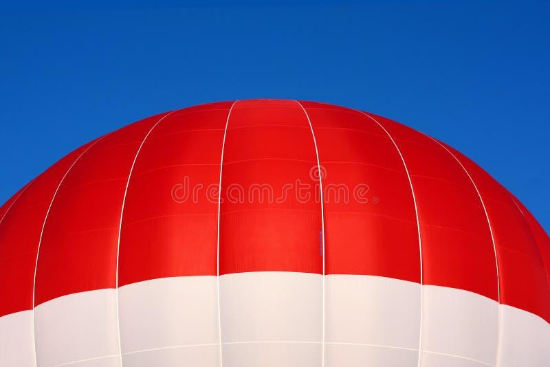 Верхняя часть горячего воздушного шара стоковая фотография rf