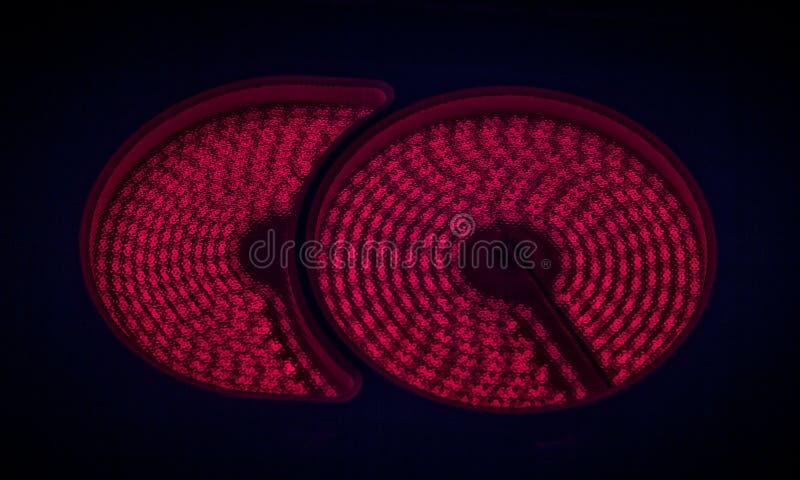 Верхняя часть керамической плиты горячая стоковые изображения
