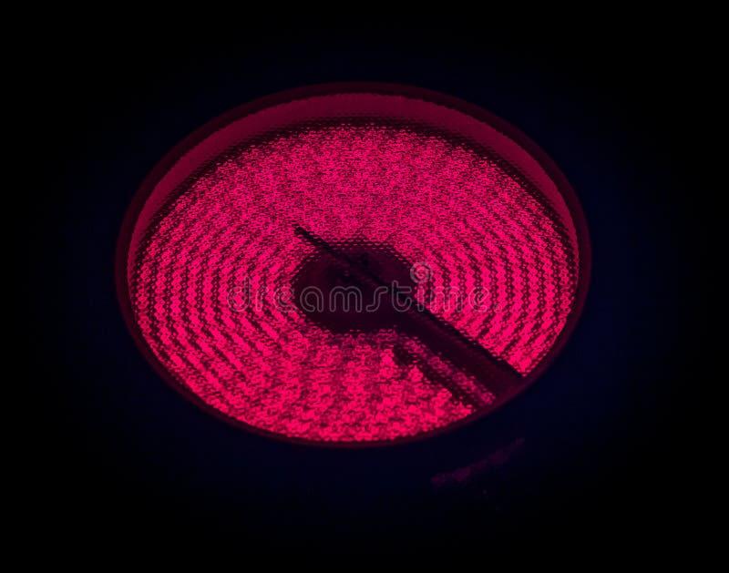 Верхняя часть керамической плиты горячая стоковые фото