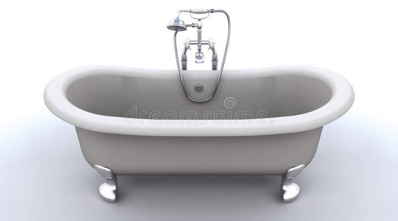 верхняя часть крена ванны классицистическая иллюстрация штока