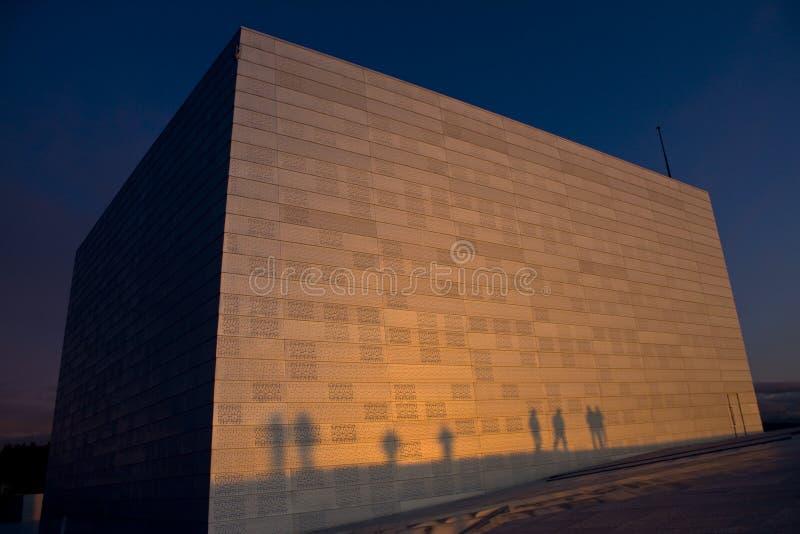 верхняя часть пурпура оперы конструкции новая стоковое изображение rf