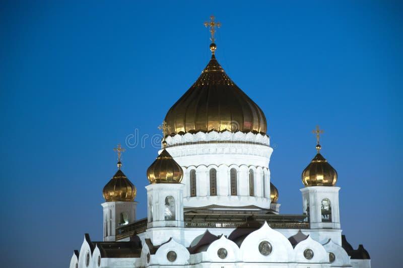 Верхняя часть собора Христоса спаситель стоковые изображения