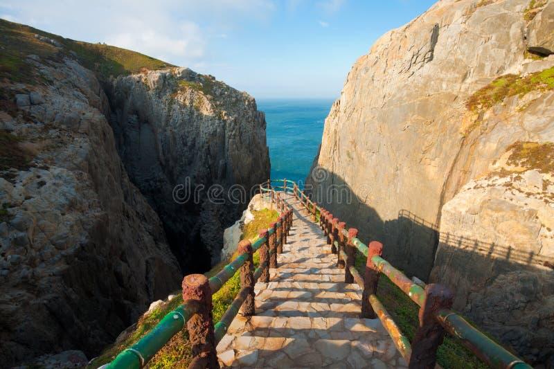 верхняя часть суицида шагов dongyin скалы стоковая фотография rf