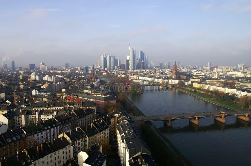 верхняя часть frankfurt стоковые изображения rf