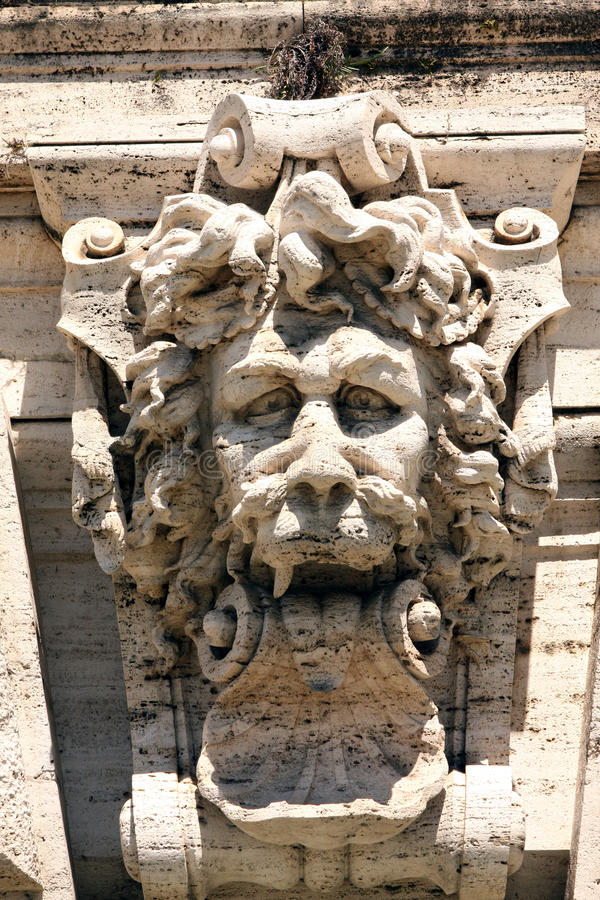 Верховный Суд Рим Италия фонтана стоковые фото