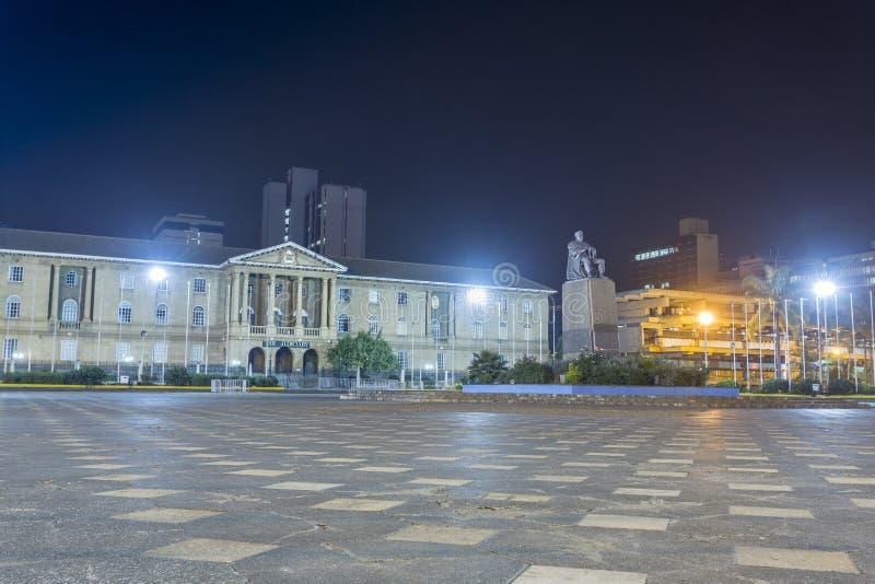 Верховный Суд, судебное здание, Найроби, Кения стоковые фото