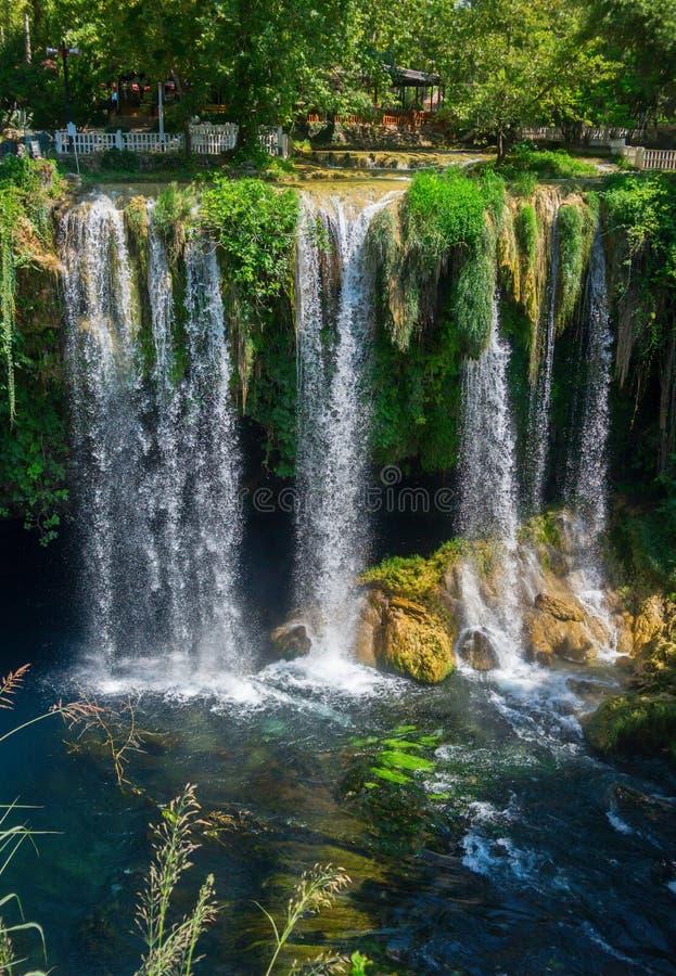 Верхушка Duden водопада стоковая фотография rf