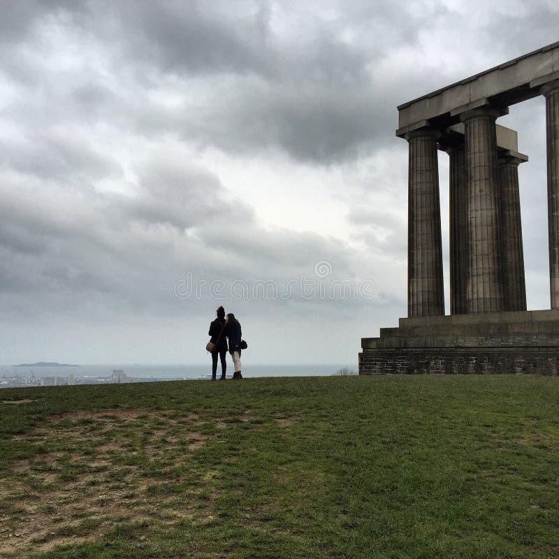 Вершина холма Эдинбурга стоковая фотография
