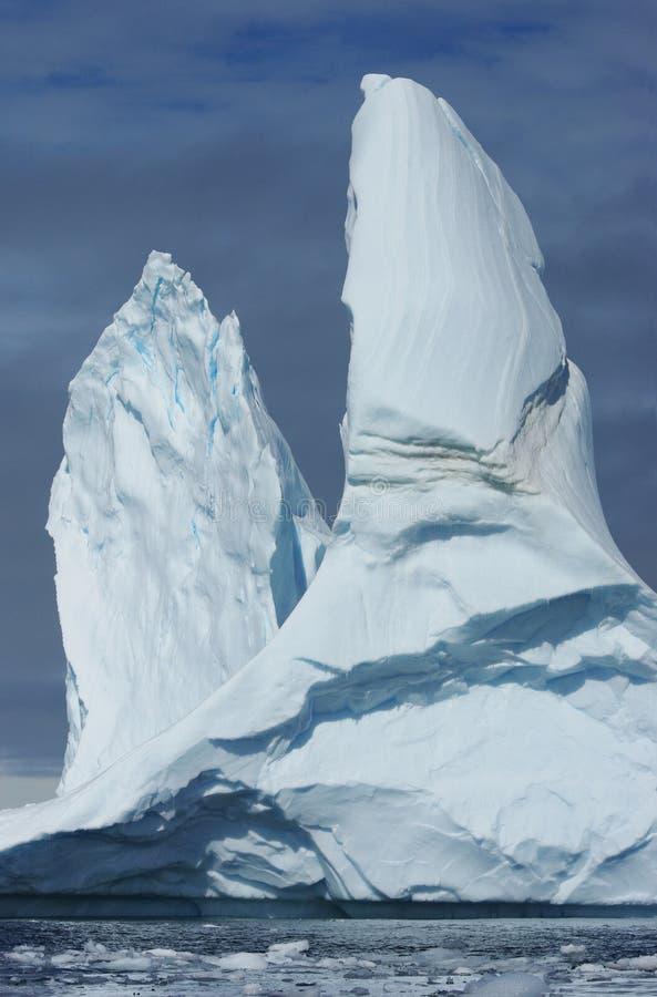 вершины айсберга большие 2 стоковые изображения rf