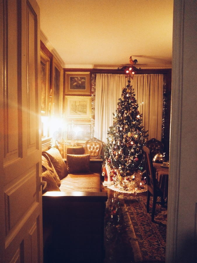 дверь рождества к стоковое фото
