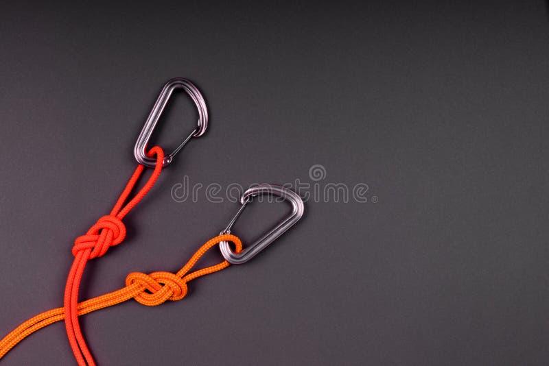 Верёвка и узел на заднем плане n стоковое фото rf