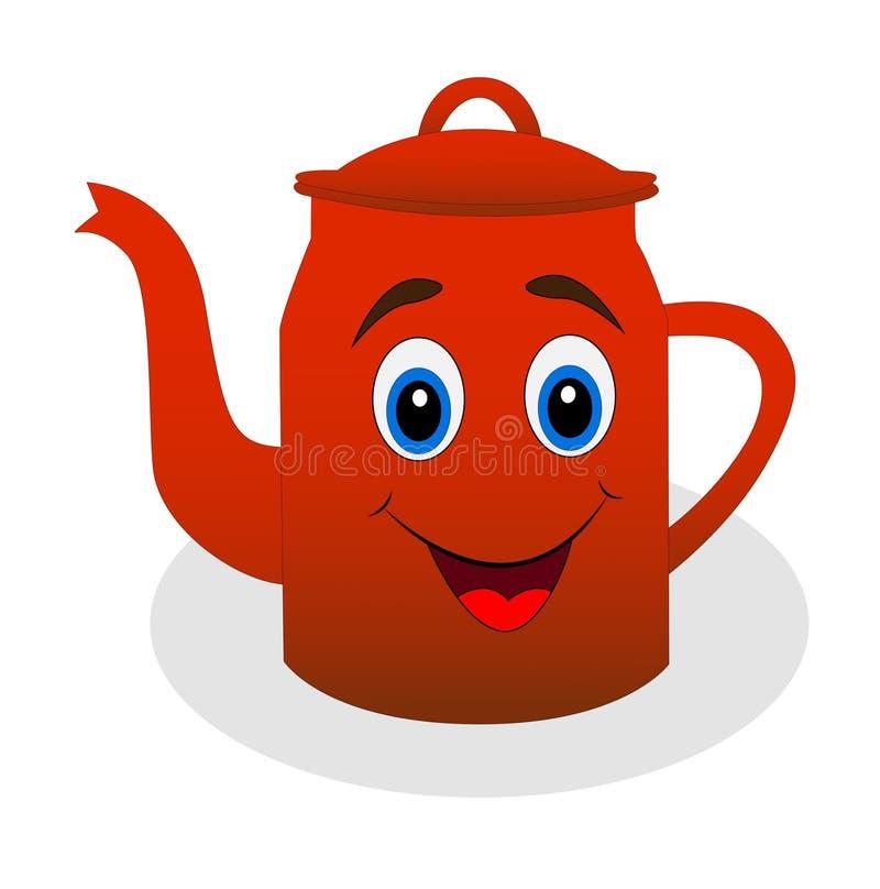 Картинка грустный чайник для детей