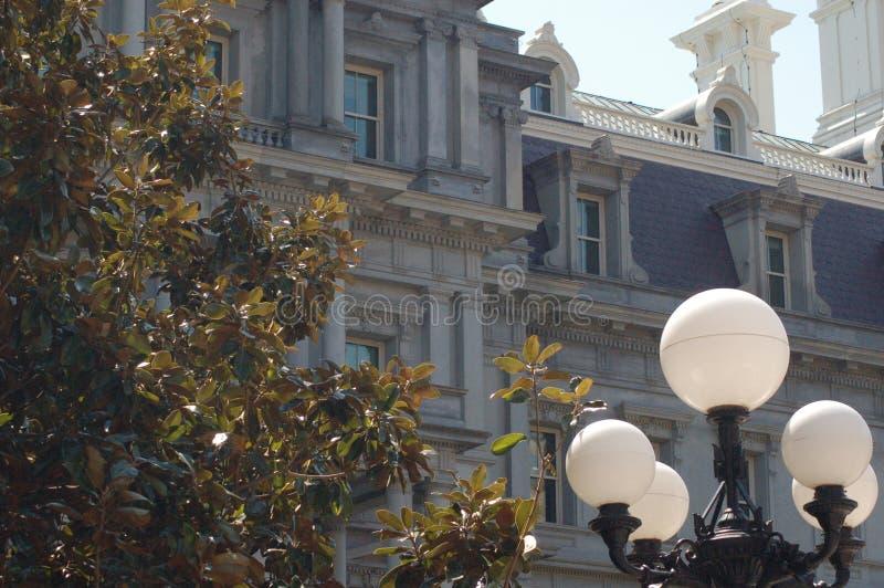Весна Белого Дома офисного здания исполнительной власти стоковые фото