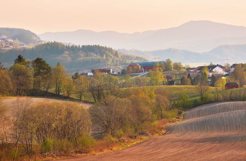 Весна в Норвегии стоковое изображение