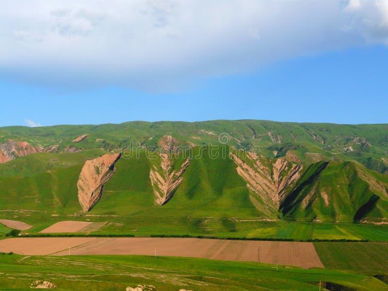 Весна в долине Hissar стоковые изображения rf